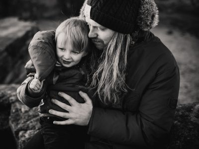 Lifestyle Family Photography Session at Rumbling Kern, Northumberland