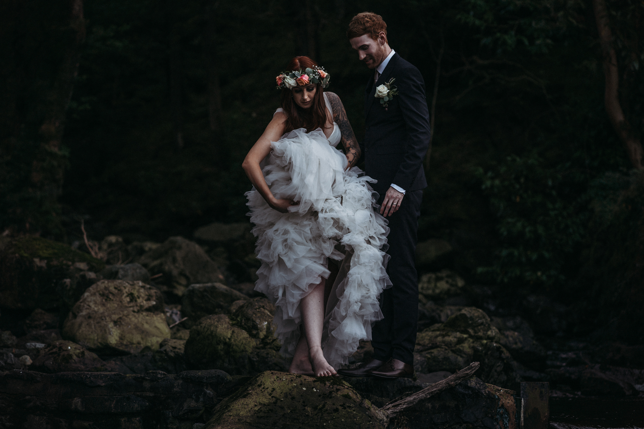 Lodore Falls Wedding