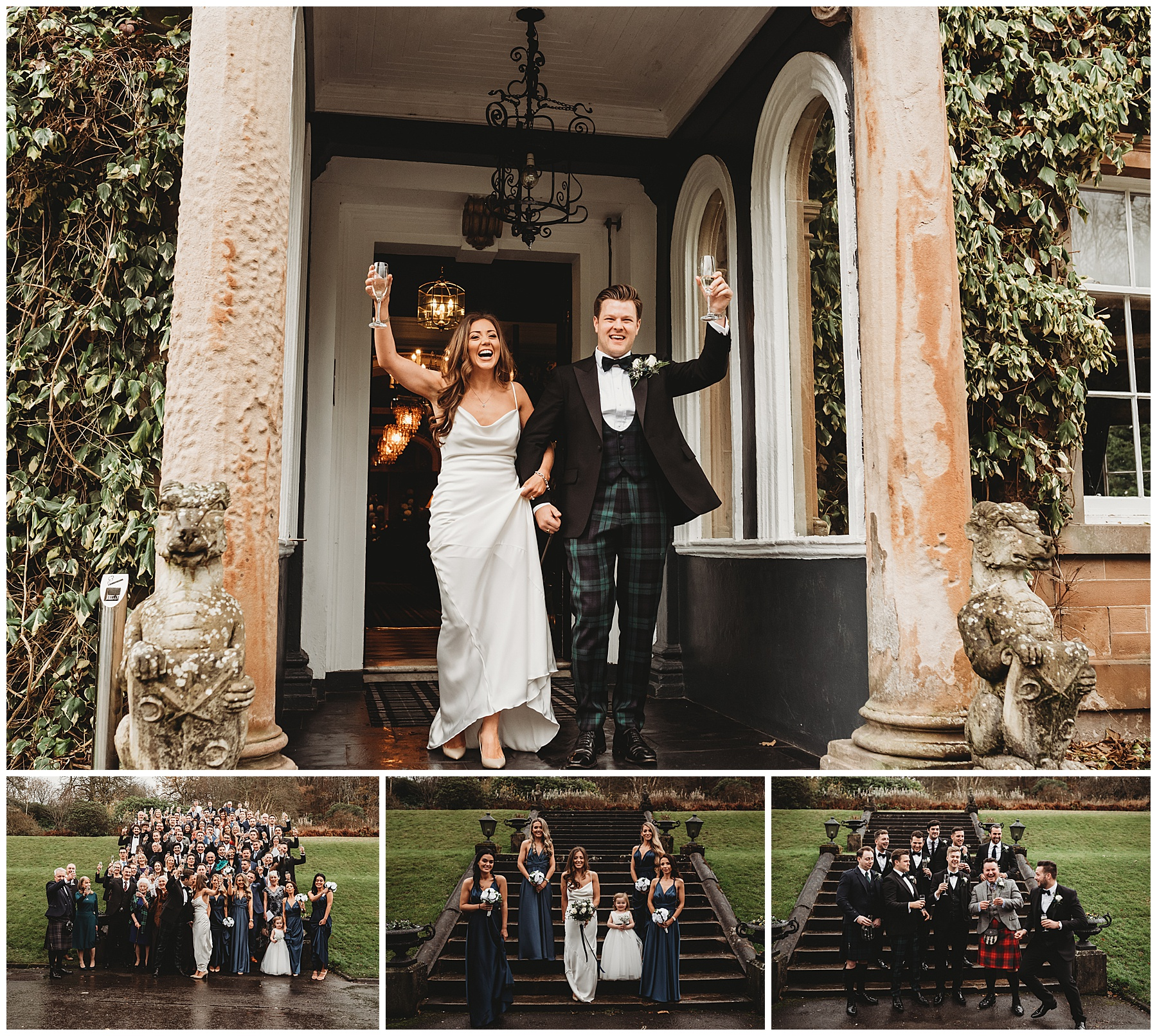 Auchen Castle Wedding